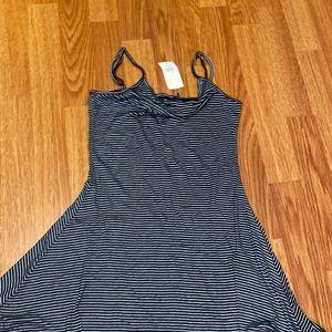 Brand stripes dress